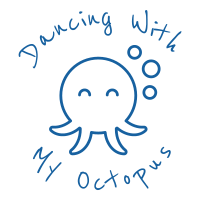 Dancing with my octopus logo